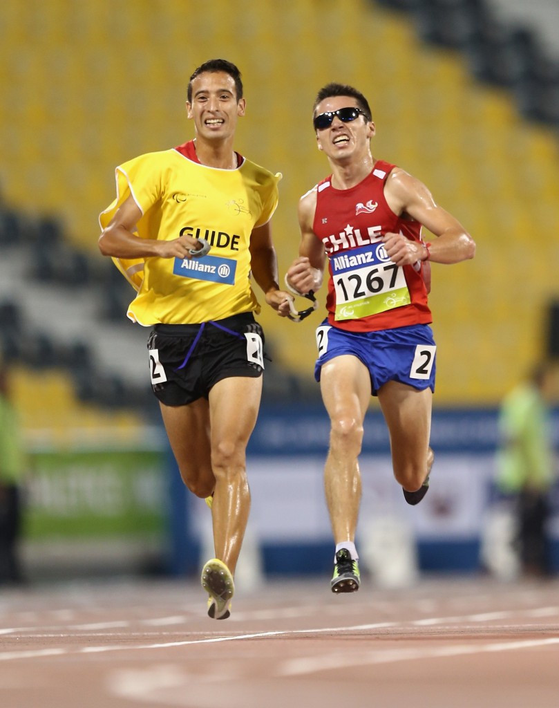 World champion distance runner named among Chile's best Para-athletes of 2015